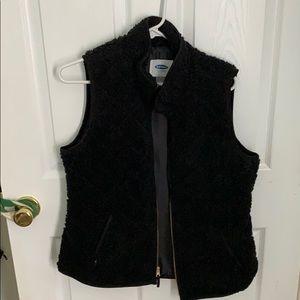 Fleeced vest
